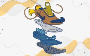 بررسی کامل اجزای کفش